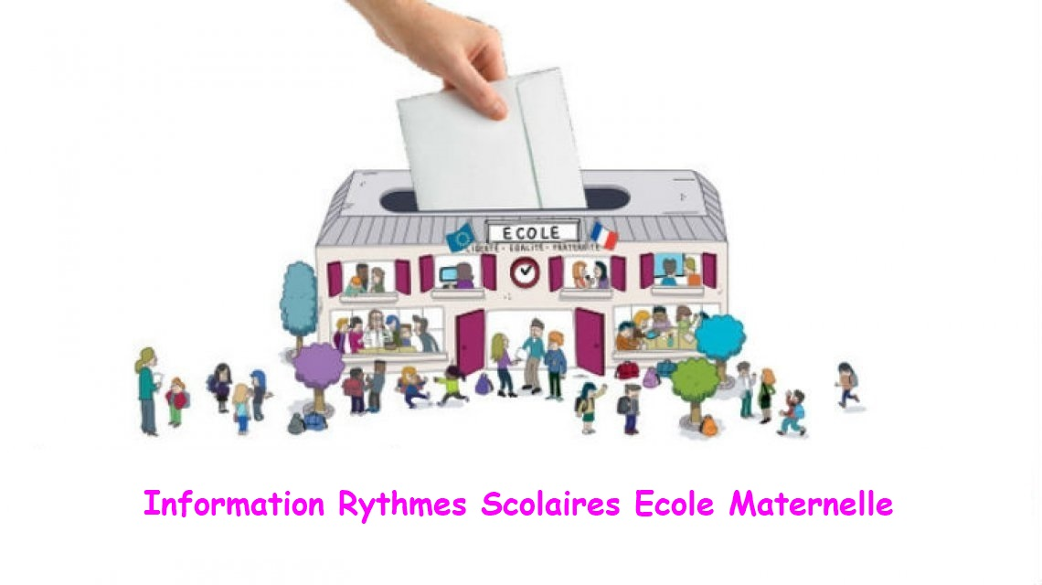 consultation rythme scolaire maternelle new